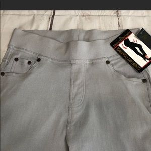 Light Gray Jeggings Control Comfort Style Size M